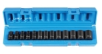 Grey Pneumatic 1203M, 3/8in Drive 12-Point Standard Length Metric Socket Set