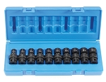 Grey Pneumatic 1210UM, 10 Piece 3/8in Drive Universal Metric Impact Socket Set