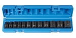 Grey Pneumatic 1213, 12 Piece 3/8in Drive Standard Length Fractional Impact Socket Set
