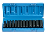 Grey Pneumatic 1213MD, 13 Piece 3/8in Drive Deep Metric Impact Socket Set