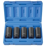 Grey Pneumatic 1705SN, 1/2in Drive Spindle Nut Socket Set