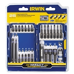 Irwin/Hanson 1840393, 26 Piece Impact Screwdriver Bit Set