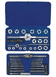 Irwin/Hanson 24606, 41 Piece Machine Screw / Fractional Tap and Die Super Set