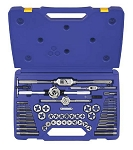 Irwin/Hanson 24640, 53 Piece Machine Screw / Fractional Tap and Hex Die Set