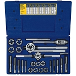 Irwin/Hanson 97311, 25 Piece Metric Tap and Hex Die Set
