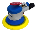 Hutchins 3950, 6in Lightweight Random Orbital Air Sander with Vacuum