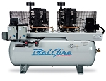BelAire 3312DL, 2x7.5HP 120 Gallon 2 Stage Electric Duplex Air Compressor