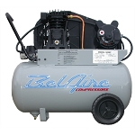 BelAire 5020P, 2HP 20 Gallon Single Stage Portable Electric Air Compressor