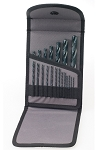 Ingersoll Rand DBKBO-20E, 20 Piece Black Oxide Drill Bit Set