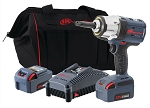 Ingersoll Rand W7252-K22, 1/2in IQV 20V High Torque Cordless Impact Wrench with 2in Extension and Two Batteries