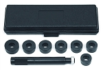 GearWrench 31430, 9 Piece Bushing Remover / Installer Set 1-5/8in to 1-3/4in