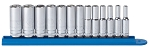 GearWrench 80304, 13 Piece 1/4in Drive 6 Point Deep Metric Socket Set