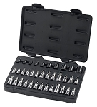 GearWrench 80726, 36 Piece Master Torx Set with Hex Socket Bits