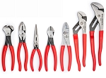 GearWrench 82116, 7 Piece Mixed Dipped Handle Plier Set