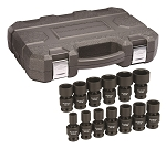 GearWrench 84938N, 13 Piece 1/2in Drive 6 Point SAE Universal Impact Socket Set