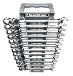 GearWrench 85698, 12 Piece Metric GearWrench XL Locking Flex Head Ratcheting Wrench Set
