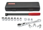 GearWrench 89000, Serpentine Belt Tool Set with Locking Flex Head Ratcheting Wrench