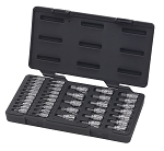 GearWrench 890040, 39 Piece Bit Socket Set 1/4in (13mm) and 3/8in (20mm) Drive
