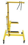 Killer Tools ART45, Heavy Duty Door Lift Operated by Air Ratchet