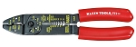Klein Tools 1001, 8-3/4in All Purpose Electrician Tool Crimper - Cutter