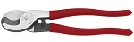 Klein Tools 63050, 9-1/2in High Leverage Cable Cutter for Aluminum and Copper