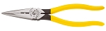 Klein Tools D203-8N, Long-Nose HD Side Cutters - Skinning Hole Pliers 8-5/16in