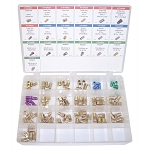 K Tool International 00047, 95 Piece Brake Line Fittings Assortment