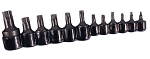 K Tool International 22601, 12 Piece Torx Socket Set