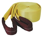 K Tool International 73811, Tow Strap with Looped Ends 3in X 20ft 22500 lb Capacity