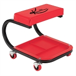 K Tool International 74981, Mechanics Padded Creeper Seat with Storage Tray
