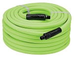 Legacy Manufacturing HFZ1250YW3, Flexzilla 1/2in x 50ft Air Hose with 3/8in MNPT Fittings