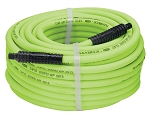 Legacy Manufacturing HFZ38100YW2, Flexzilla 3/8in x 100ft Air Hose with 1/4in MNPT Fittings