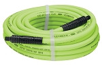 Legacy Manufacturing HFZ3825YW2, Flexzilla 3/8in x 25ft Air Hose with 1/4in MNPT Fittings
