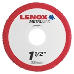 LENOX 1972914, Metal Max Die Grinder Diamond Cutoff Wheel 1.5in x 3/8in