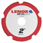 LENOX 1972917, Metal Max Die Grinder Diamond Cutoff Wheel 2in x 3/8in