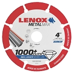 LENOX 1972918, Metal Max Die Grinder Diamond Cutoff Wheel 3in x 3/8in