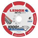 LENOX 1972920, Metal Max Angle Grinder Diamond Cutoff Wheel 4in x 5/8in