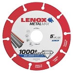 LENOX 1972922, Metal Max Angle Grinder Diamond Cutoff Wheel 5in x 7/8in