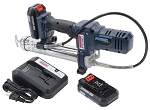 Lincoln Lubrication 1264, 12V Lithium ion PowerLuber Cordless Grease Gun Kit with 2 Batteries