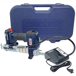 Lincoln Lubrication 1882, 20v Li ion PowerLuber Cordless Grease Gun Kit with Single Battery