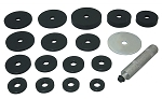 Lisle 24800, 18 Piece Seal Driver Kit up to 3-3/8in