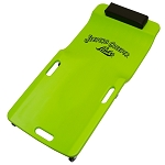 Lisle 99102, Low Profile Plastic Creeper (Neon Green)