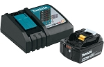 Makita BL1850BDC1, 18V LXT Lithium-Ion Battery and Charger Starter Pack (5.0Ah)
