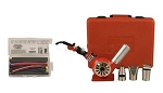Master Appliance HG-501AKITP, Master Heat Gun with 3 Attachments and Case with MT-70 and Shrink Tube Kit