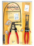 Mayhew 28655, 2 Piece Hose Clamp Plier Set