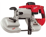 Milwaukee 0729-21, V28 Cordless Band Saw Kit with 1 Battery
