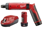 Milwaukee 2101-22, M4 1/4in Cordless Hex Screwdriver Kit with 2 Batteries