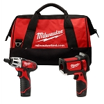 Milwaukee 2276-23, Laser Temp-Gun M12 Cordless Thermometer and M12 Screwdriver Combo Kit