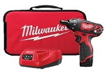 Milwaukee 2401-21, M12 1/4in Cordless Hex Screwdriver Kit