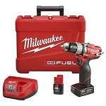 Milwaukee 2403-22, M12 Fuel 1/2in Cordless Drill / Driver Kit